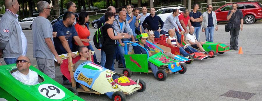 """Eco Car Race"" per Europea Microfusioni Spaziali"