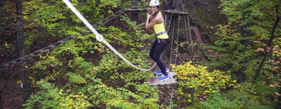 TeamBuilding nella Natura – Percorso in Altezza