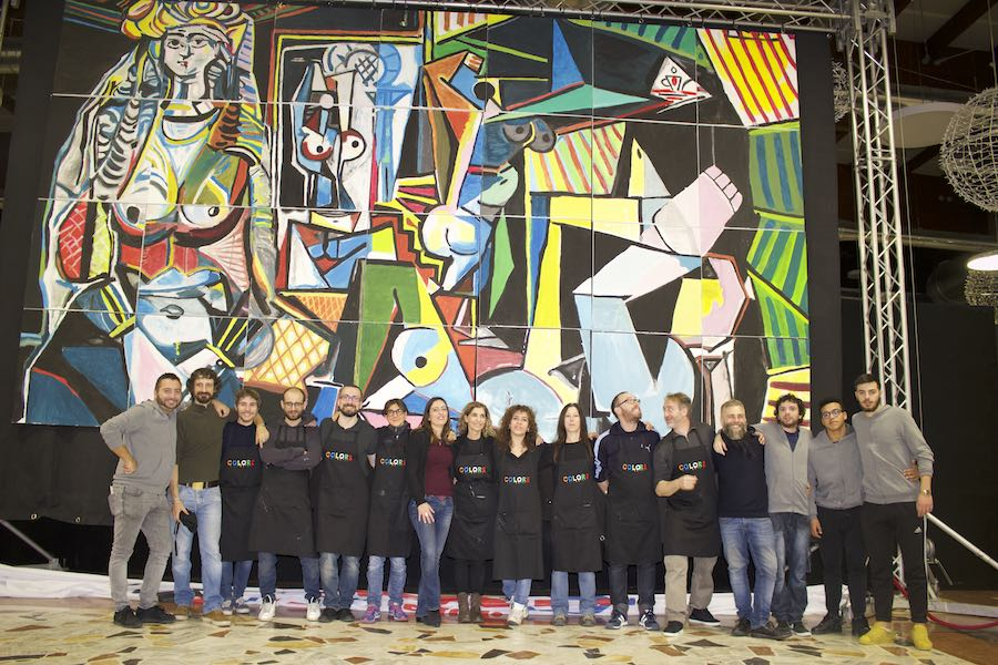 "Team Building Pittura ""Il Quadro Gigante"""